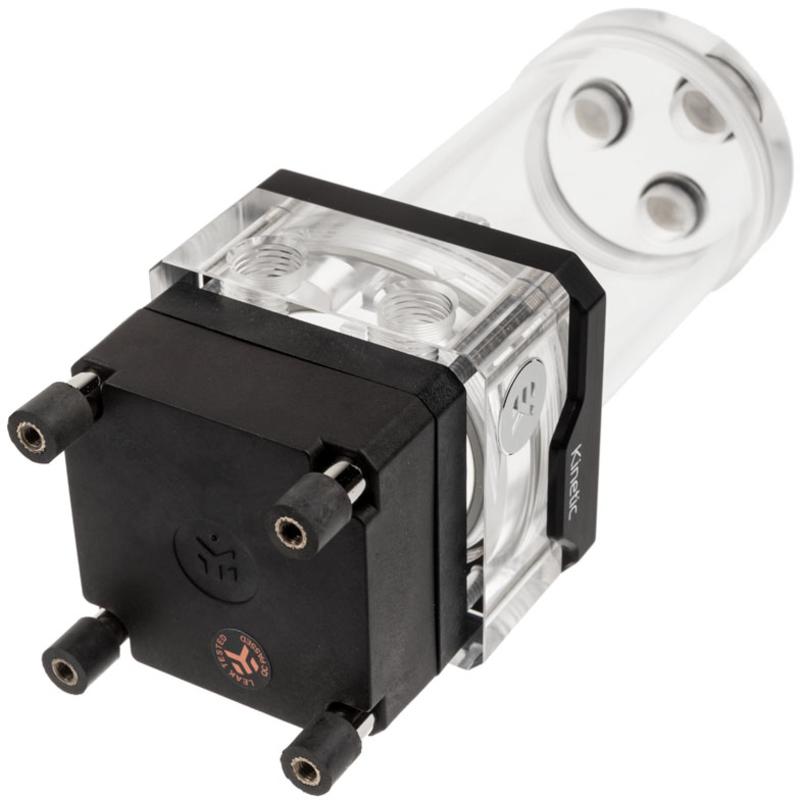 EKWB - Reservatório+Bomba EKWB Quantum Kinetic TBE 160 VTX PWM D-RGB - Acrílico
