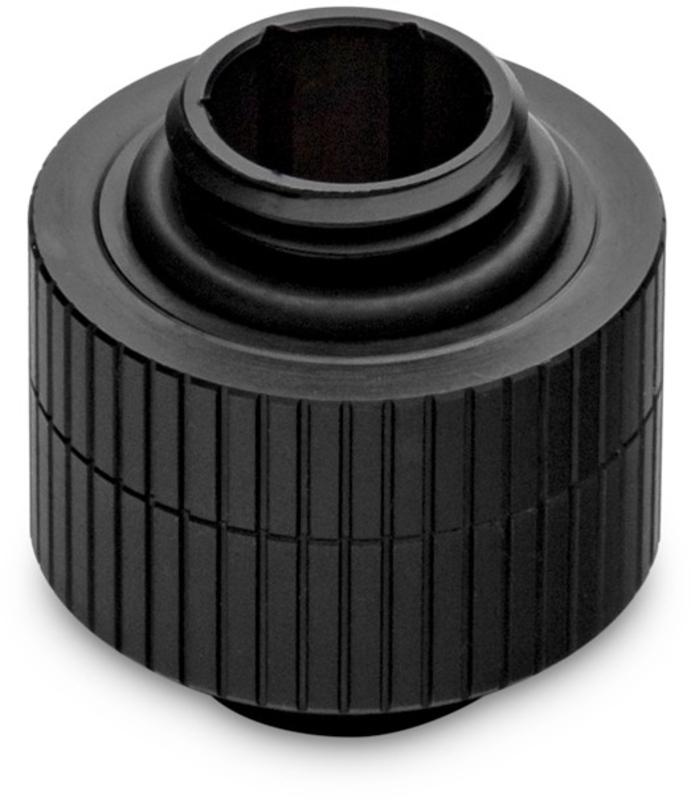 Extensor Rotativo EKWB Quantum Torque 14mm Macho / Macho Preto