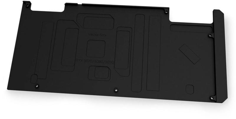 EKWB - Backplate VGA EKWB Quantum Vector STRIX RTX 3080/3090 Preto