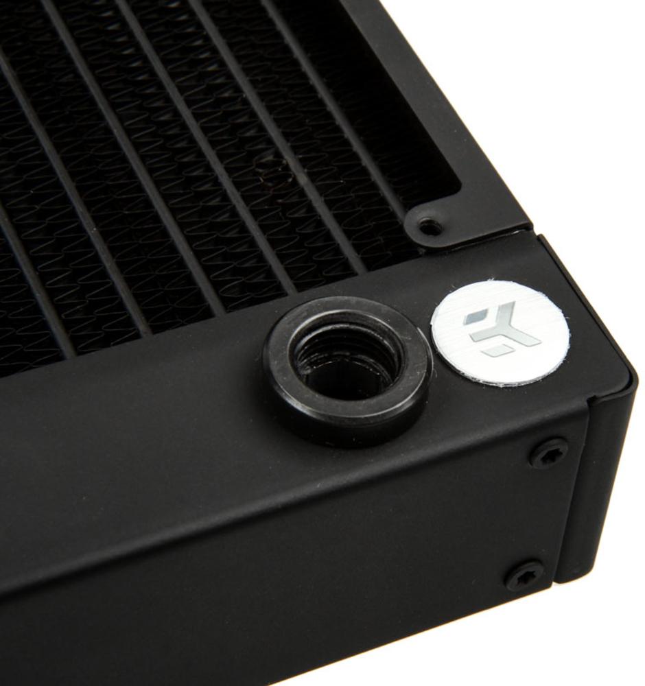 EKWB - Radiador Cobre EKWB CoolStream PE 120 2 x G1/4 40mm Preto