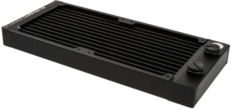 EKWB - Radiador Cobre EKWB CoolStream SE 240 2 x G1/4 26mm Preto