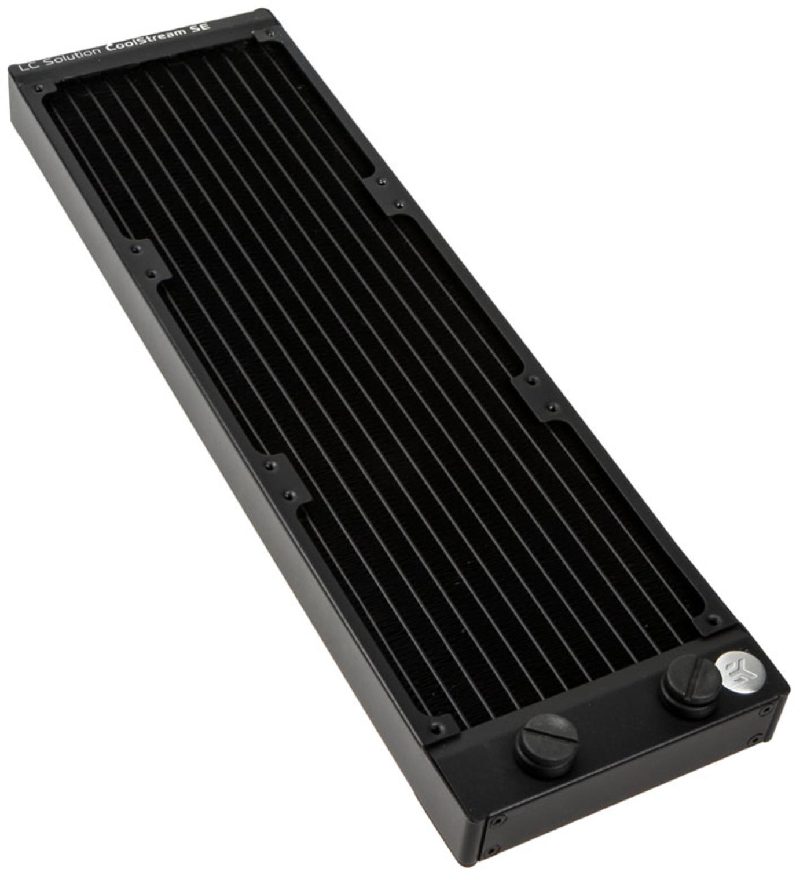 EKWB - Radiador Cobre EKWB CoolStream SE 360 2 x G1/4 26mm Preto