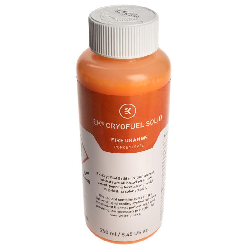 EKWB - Liquido EKWB Solid Concentrado Fire Orange 250 ml