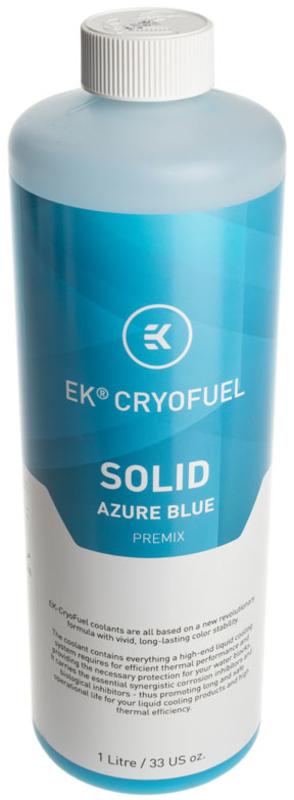 Líquido EKWB Solid Premix Azure Blue 1000ml