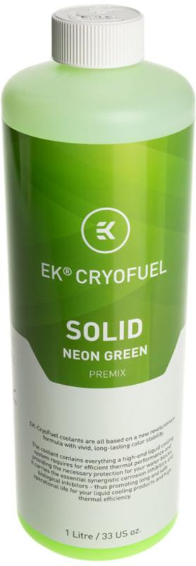 Líquido EKWB Solid Premix Neon Green 1000ml