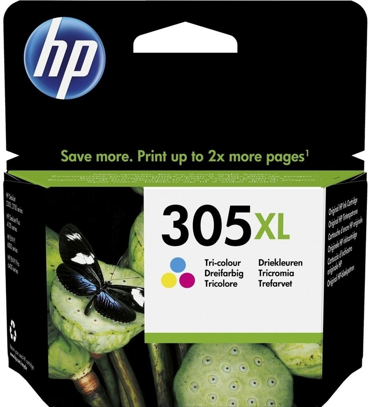 HP - Tinteiro HP 305 XL Tricolor