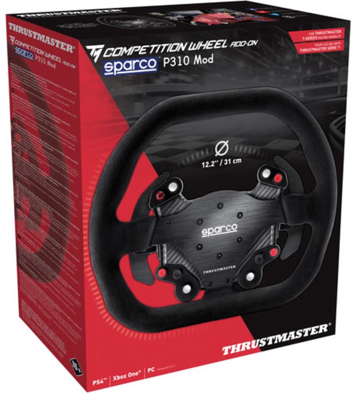 Thrustmaster - Volante Addon Thrustmaster Sparco P310 Mod