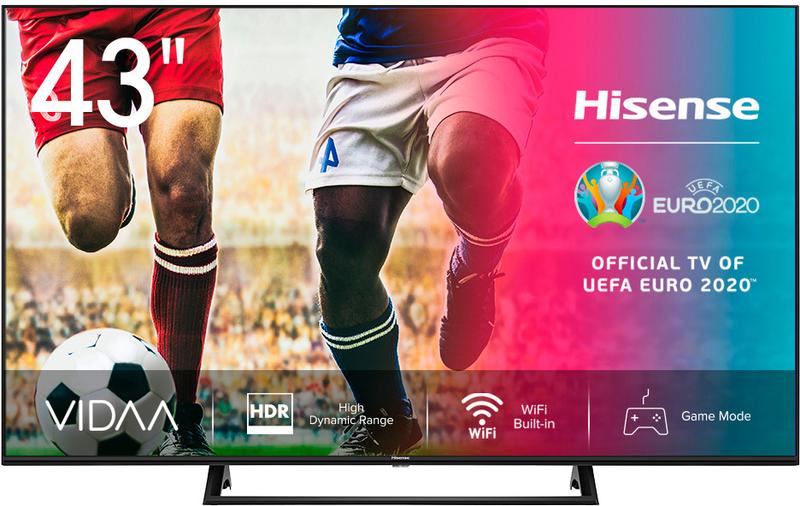 """Televisor Hisense 43"""" 43A7300F LED 4K SMART TV"""
