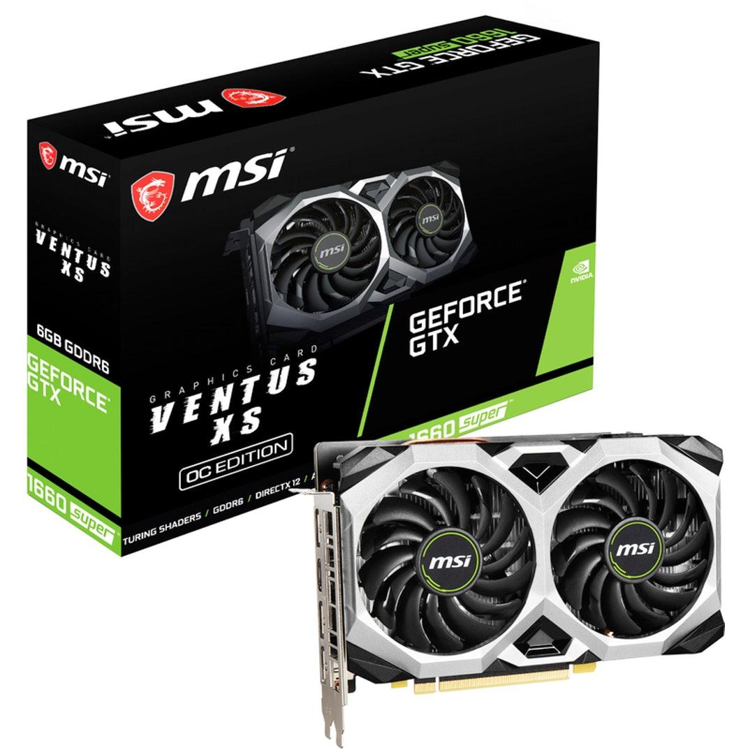 Gráfica MSI GeForce® GTX 1660 SUPER VENTUS XS 6G OC