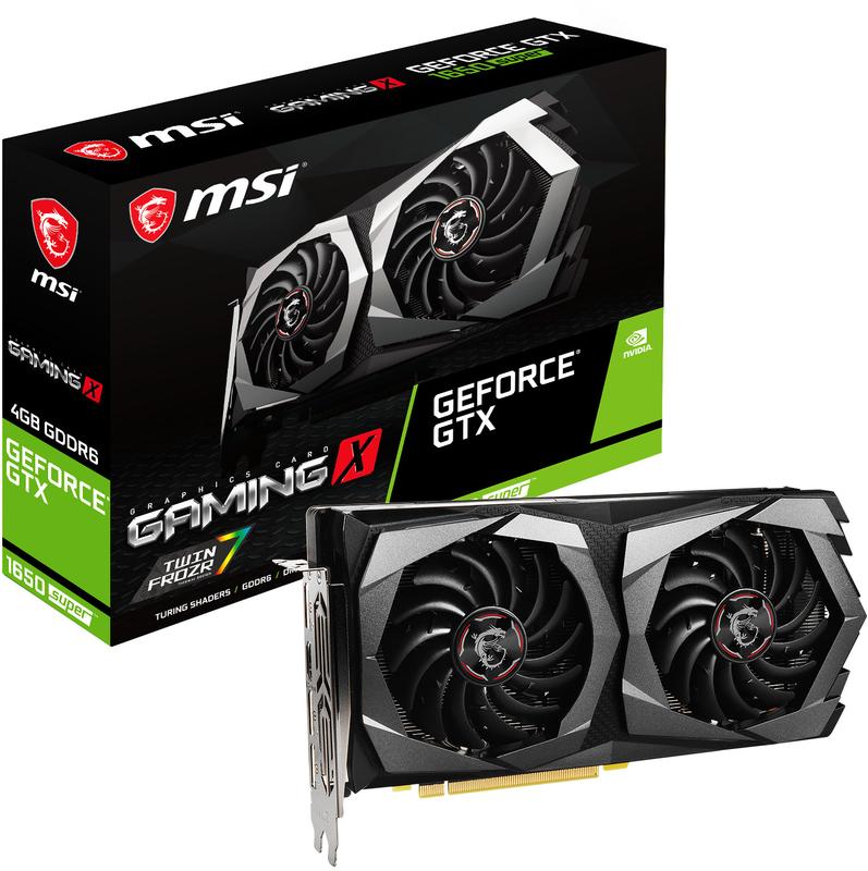 MSI - Gráfica MSI GeForce® GTX 1650 SUPER GAMING X 4G