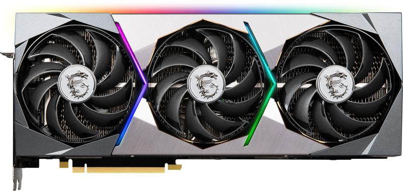 MSI - Gráfica MSI GeForce® RTX 3080 SUPRIM X 10G