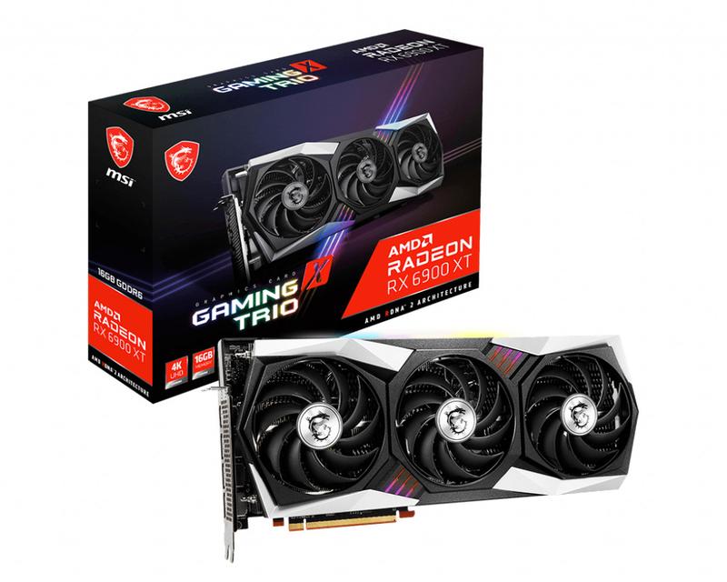 Gráfica MSI Radeon RX 6900 XT GAMING X TRIO 16G