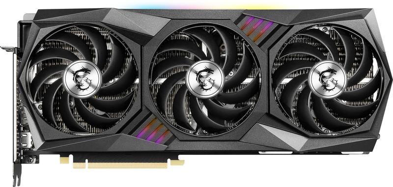 MSI - Gráfica MSI GeForce® RTX 3080 Ti GAMING X TRIO  12G