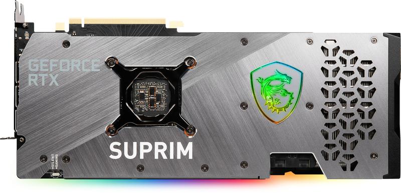 MSI - Gráfica MSI GeForce® RTX 3070 Ti SUPRIM X 8G
