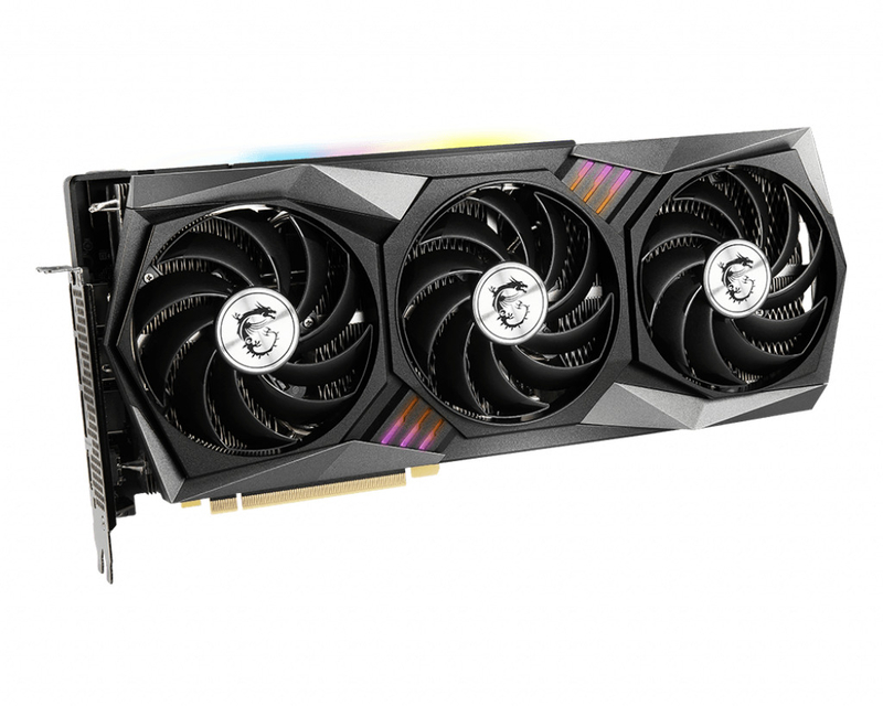 MSI - Gráfica MSI GeForce® RTX 3060 Ti GAMING Z TRIO LHR 8G