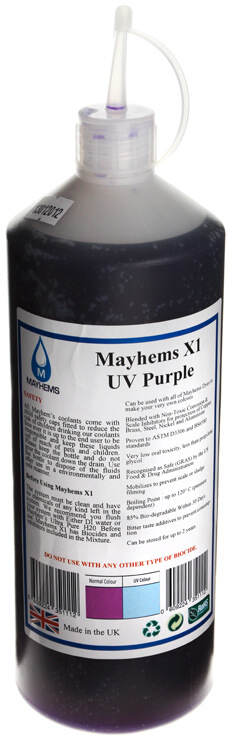 Mayhems - Líquido Concentrado Mayhems X1 UV Violeta 1000ml