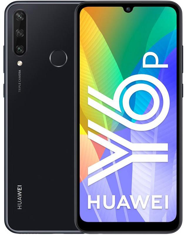"Smartphone Huawei Y6p 6.3"" (3 / 64GB) Preto"