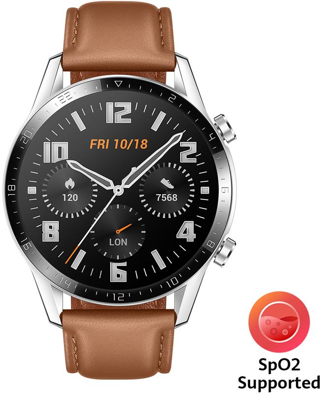 Smartwatch Huawei Watch GT 2 46mm Classic Castanho