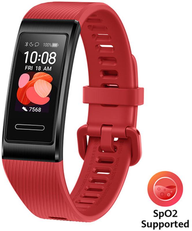Huawei - Smartband Huawei Band 4 Pro Vermelho