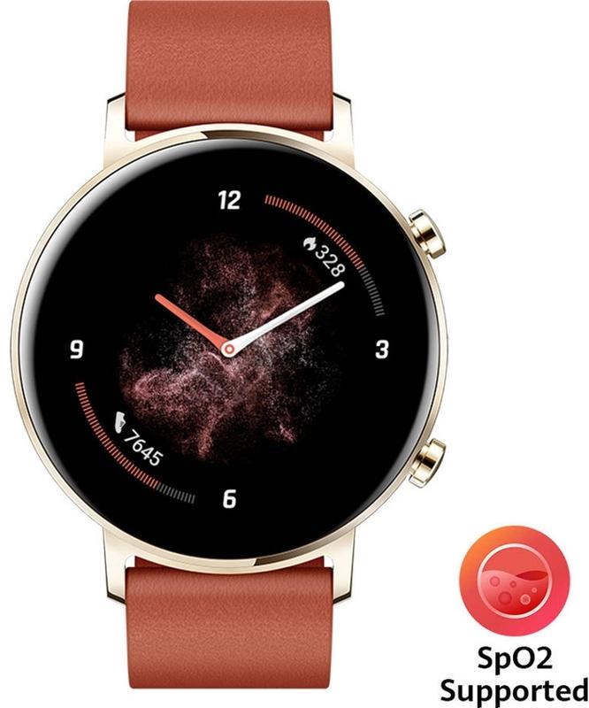 Huawei - Smartwatch Huawei Watch GT 2 42mm Classic Castanho