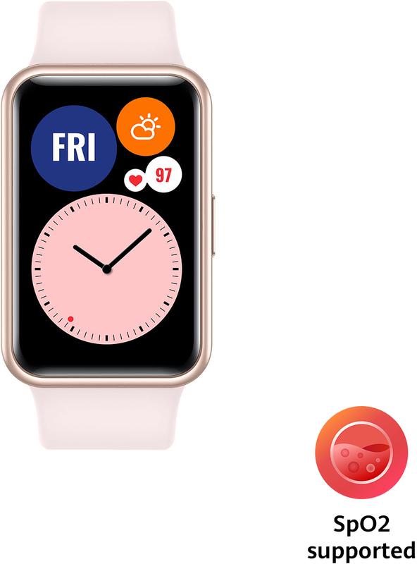 Huawei - Smartwatch Huawei Watch Fit Active Rosa