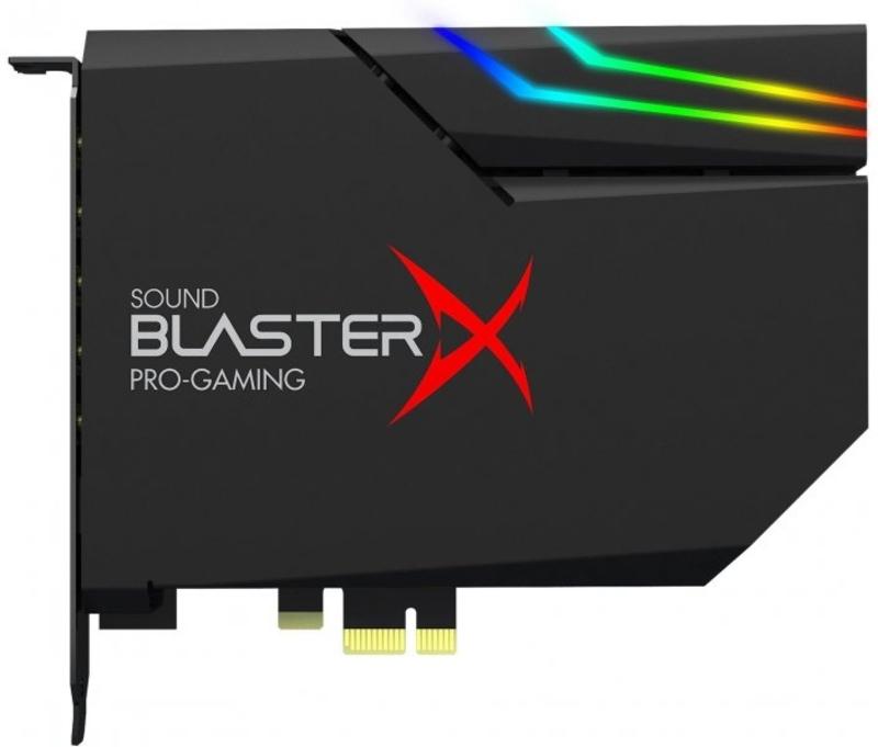 Placa de Som Creative Sound BlasterX AE-5 Plus Hi-Res RGB PCIe