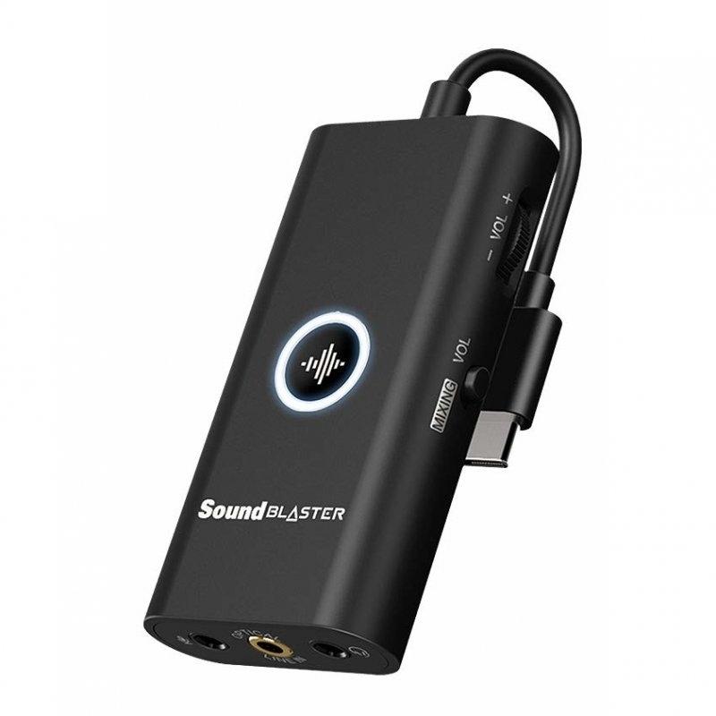 Creative - Placa de Som Creative Sound Blaster G3 USB-C