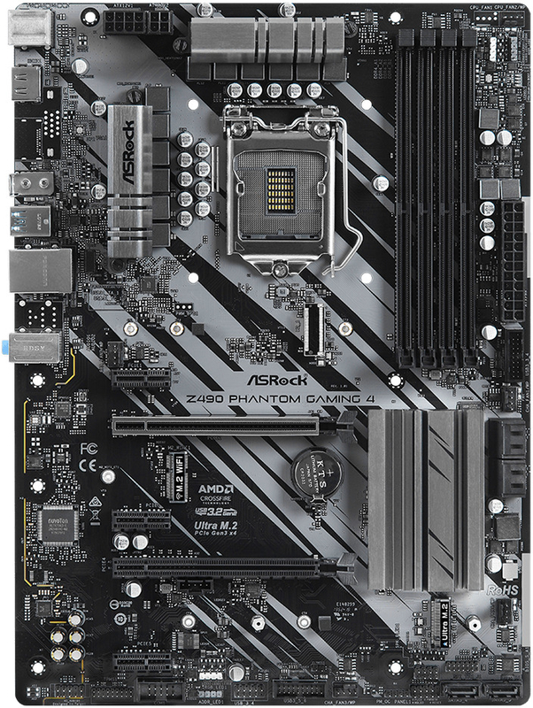 ASRock - Motherboard ASRock Z490 Phantom Gaming 4