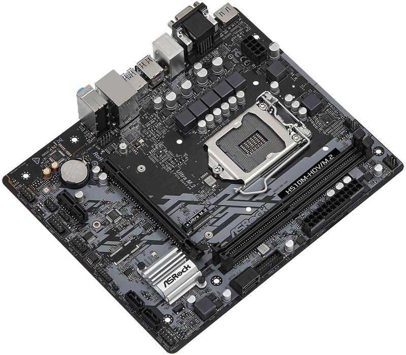 ASRock - Motherboard ASRock H510M-HDV/M.2