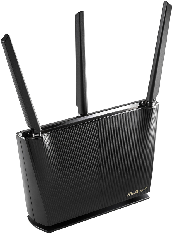 Asus - Router Asus RT-AX68U Dual-Band Wireless AX2700 WiFi 6