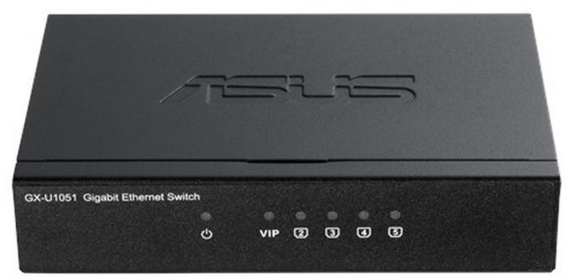 Switch Asus GX-U1051 5 Portas Gigabit