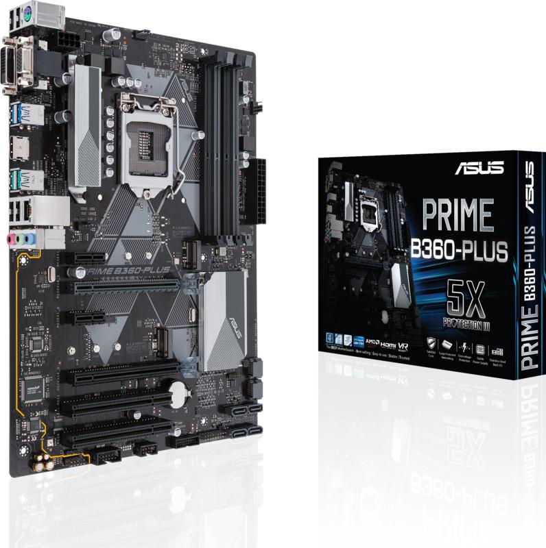 Asus - Motherboard Asus PRIME B360-Plus