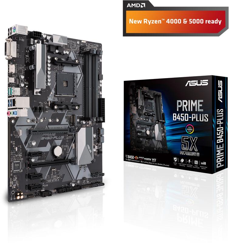 Motherboard Asus PRIME B450-Plus