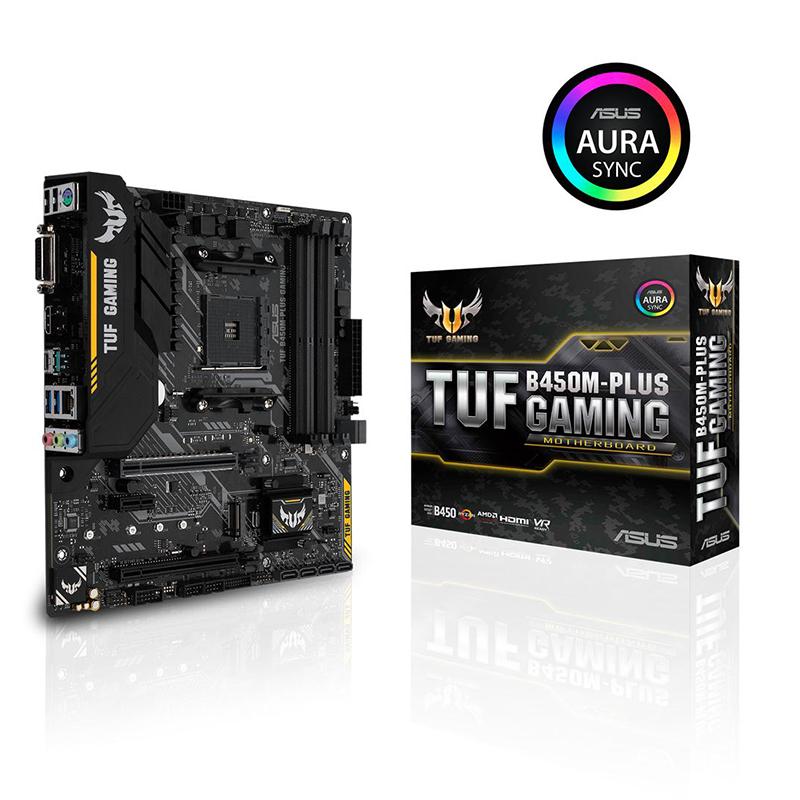 Motherboard Asus TUF B450M-Plus Gaming
