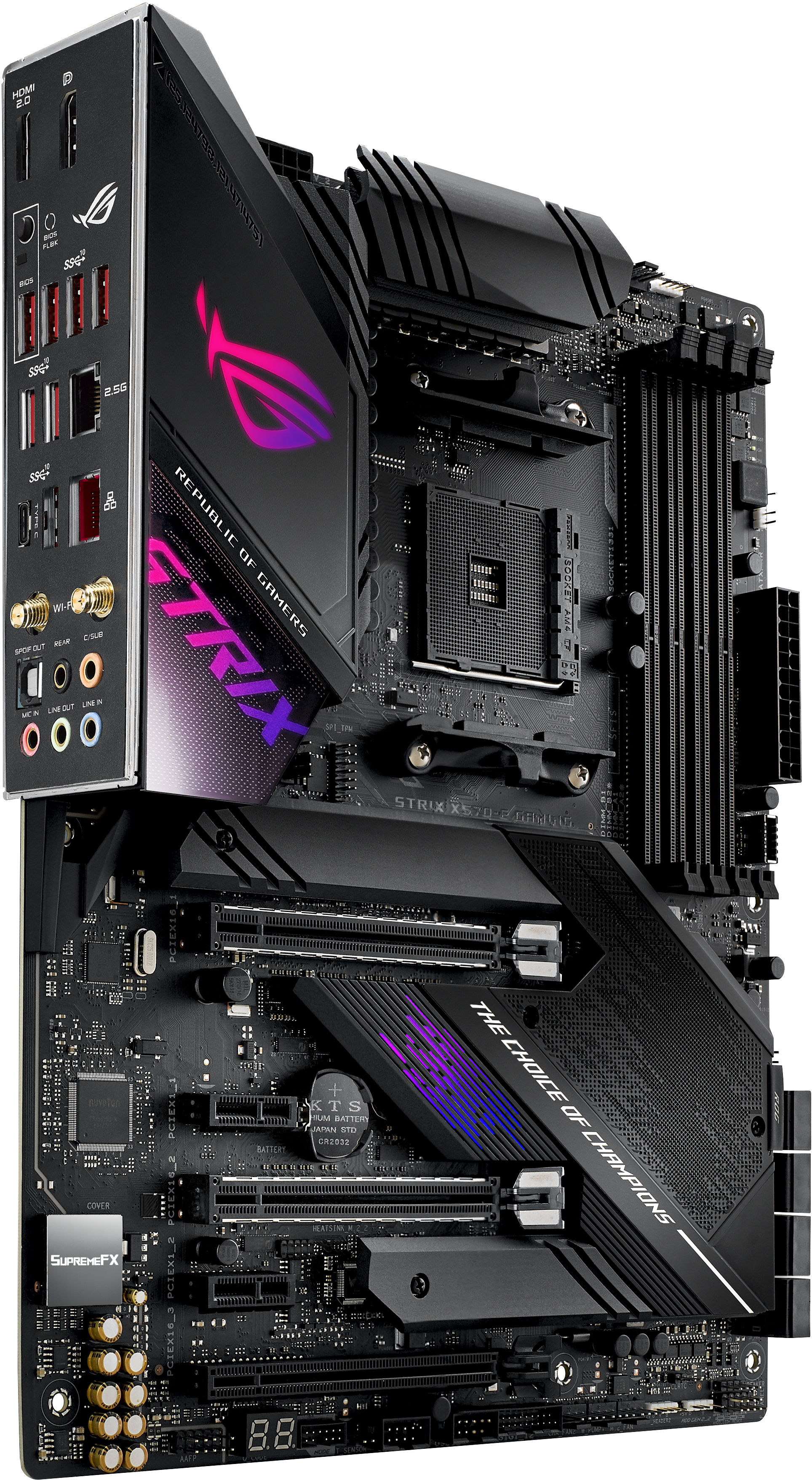 Asus - Motherboard Asus ROG Strix X570-E Gaming