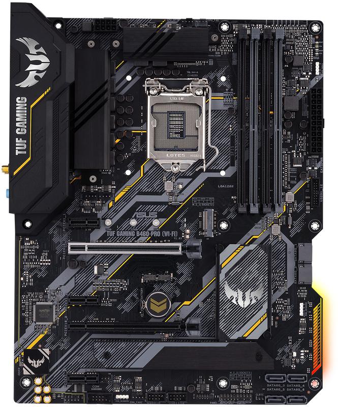 Asus - Motherboard Asus TUF B460-Pro Gaming (WI-FI)