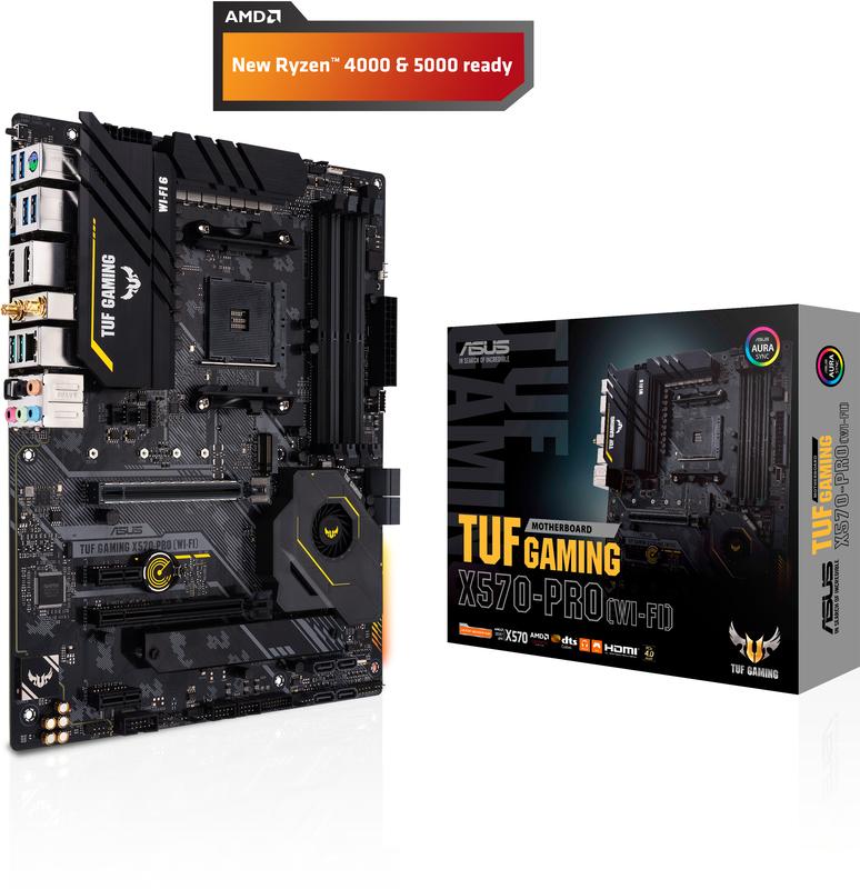 Asus - Motherboard Asus TUF X570-Pro Gaming (Wi-Fi)