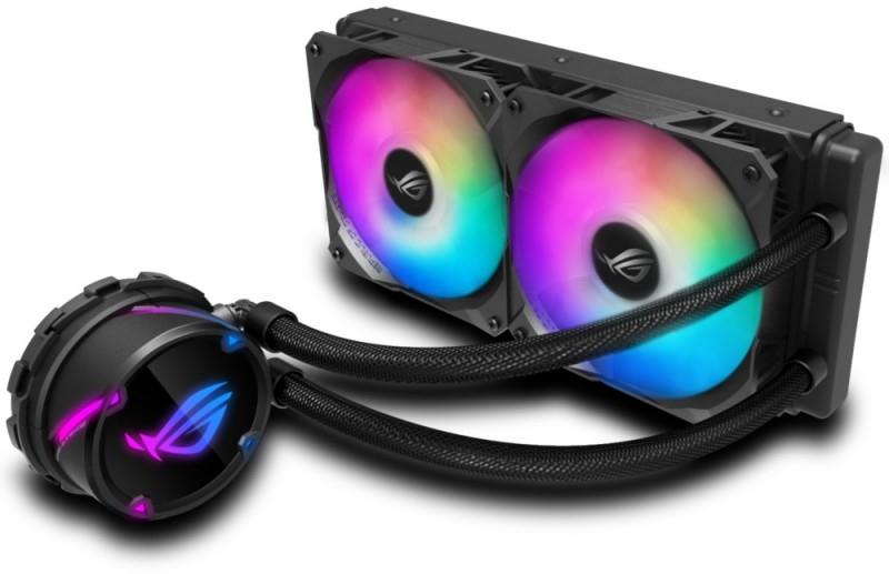 Asus - Cooler CPU a Água Asus ROG STRIX LC 240 RGB Aurasync