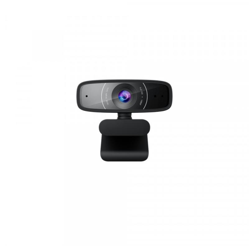 Webcam Asus C3 Full HD 360º Preta