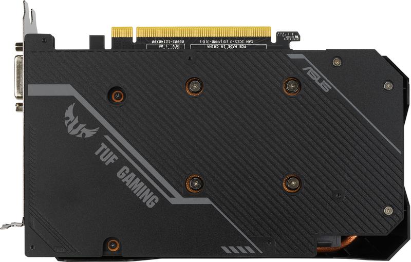 Asus - Gráfica Asus GeForce® GTX 1660 Ti TUF Gaming EVO TOP 6GB