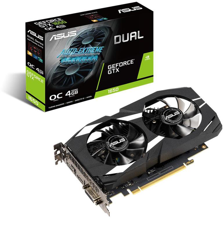 Asus - Gráfica Asus GeForce® GTX 1650 Dual OC 4GB