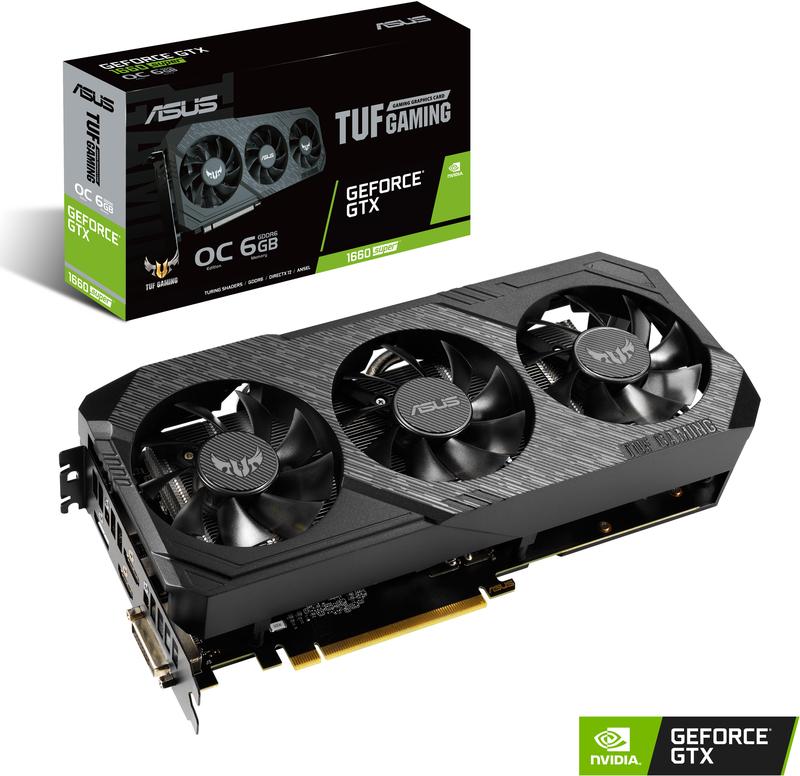 Gráfica Asus GeForce® GTX 1660 SUPER TUF Gaming X3 OC 6GB
