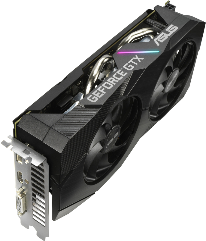 Asus - Gráfica Asus GeForce® GTX 1660 SUPER Dual EVO OC 6GB