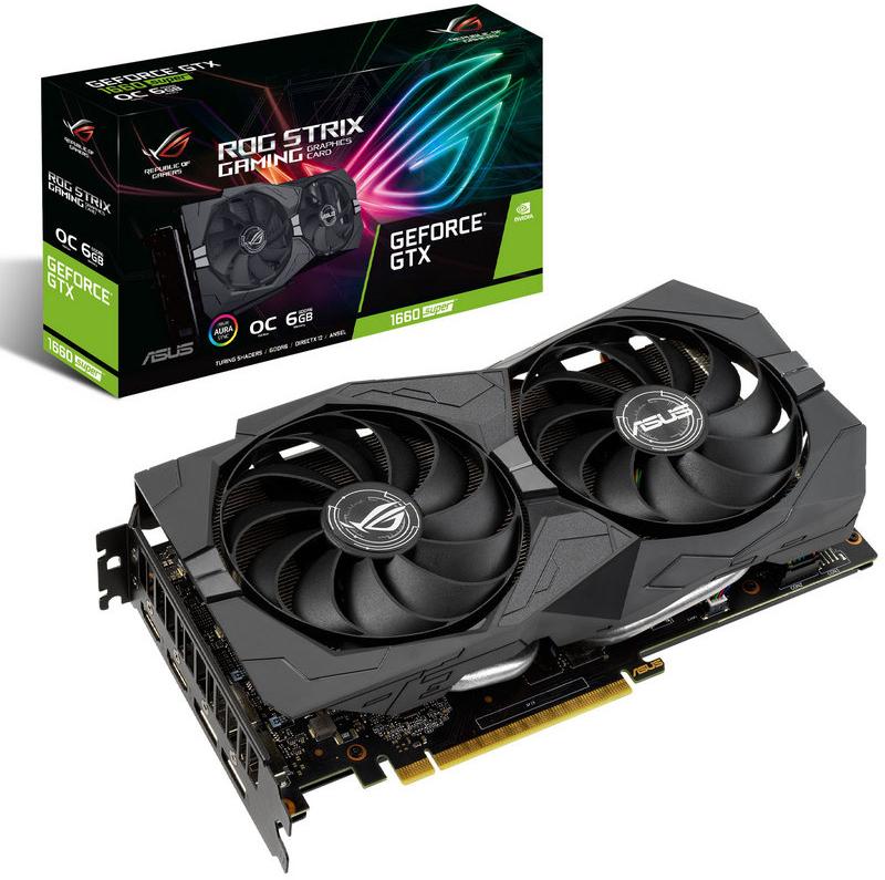 Asus - Gráfica Asus GeForce® GTX 1660 SUPER ROG Strix OC 6GB