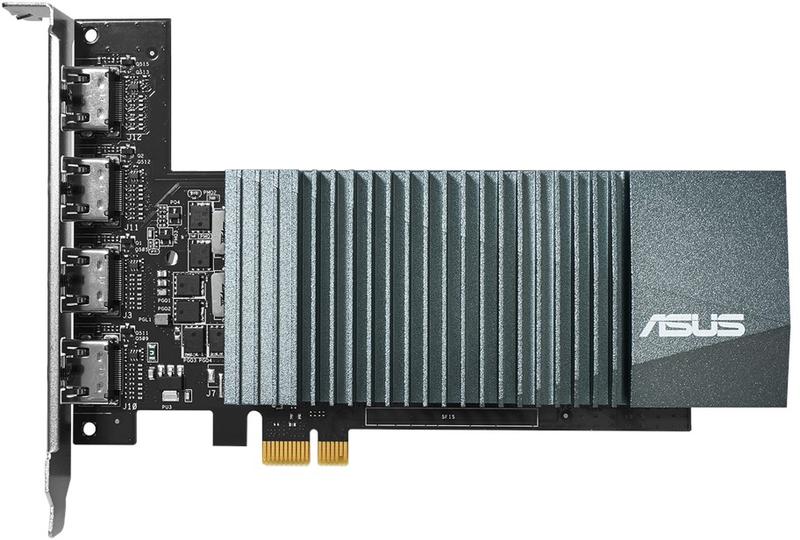 Asus - Gráfica Asus GeForce® GT 710 2GB GD5 4xHDMI