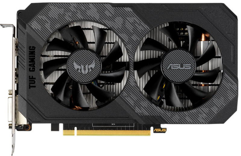 Asus - Gráfica Asus GeForce® GTX 1650 TUF Gaming OC 4GB