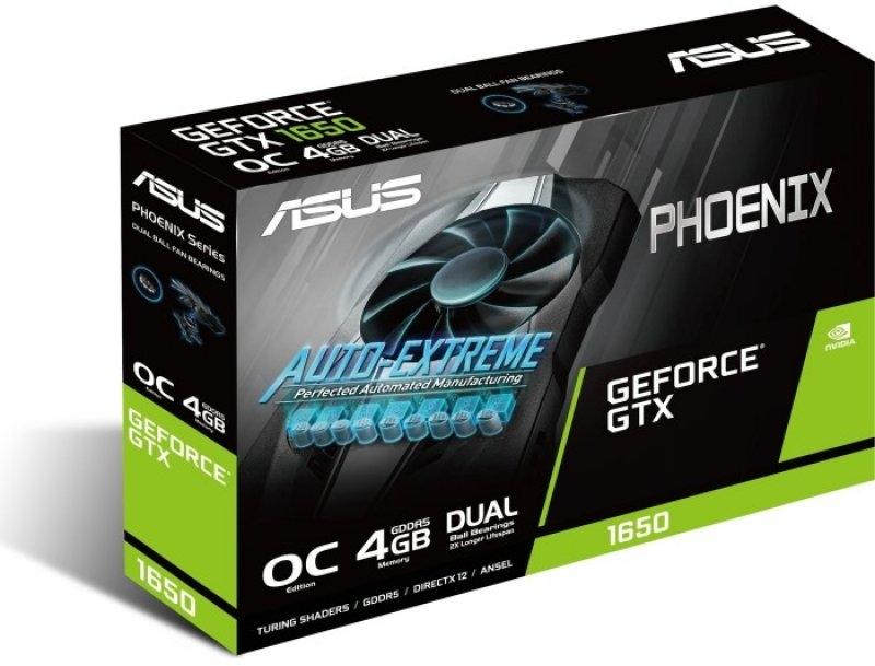 Asus - Gráfica Asus GeForce® GTX 1650 Phoenix OC 4GB