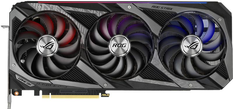 Asus - Gráfica Asus GeForce® RTX 3070 ROG Strix OC 8GB GD6