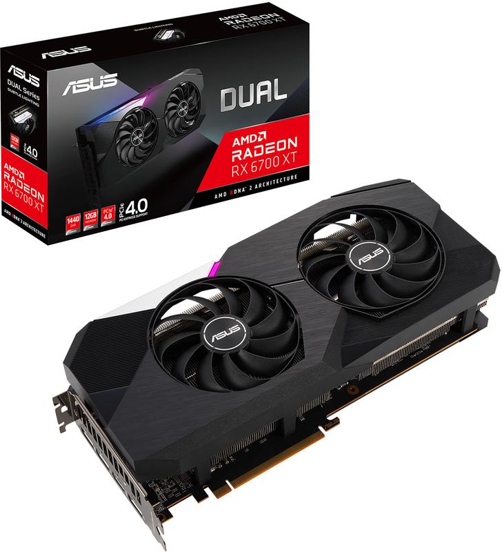 Gráfica Asus Radeon RX 6700 XT Dual 12GB