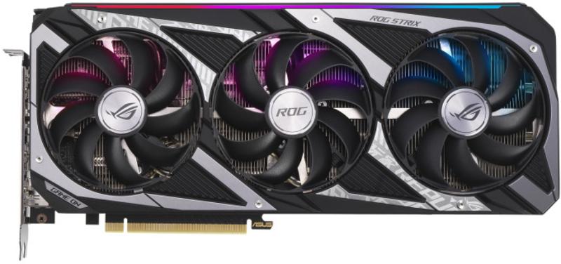 Asus - Gráfica Asus GeForce® RTX 3060 ROG Strix 12GB GD6